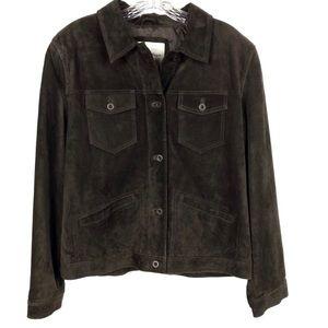 Telluride Clothing Co Dark Brown Leather Jacket